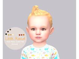 littletodds ea maxis match toddler hair