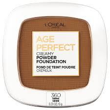 l oreal paris age perfect creamy powder