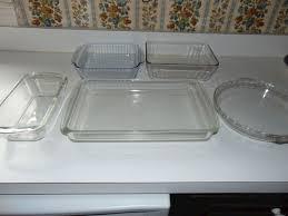 six piece pyrex glass bake set 2 15