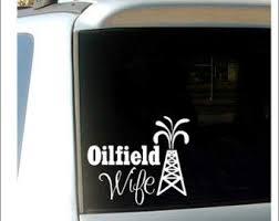 Oilfield Wife Decal Car Decal Oilfield W Buy Online In Brunei At Desertcart