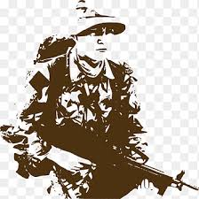 United States Army Soldier Military Blue Salute Soldiers People Usa Png Pngegg
