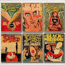 classic black mirror bbc poster