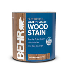 Fast Drying Water Based Wood Stain Behr Pro