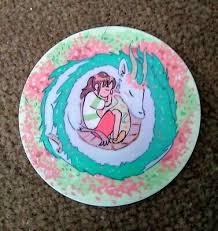 Spirited Away 2 Sticker Haku Dragon Chihiro Sen Decal Ghibli Ebay