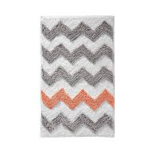 chevron rug light gray