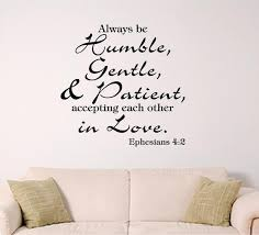 Bible Verse Wall Decal Ephesians 4 2 Accept Each Other In Etsy