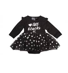 New Zealand All Blacks Tutu Size 0 - One Little Footy Fan