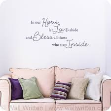 entryway wall decals quotes and sayings com