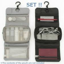 new muji hanging organizer make up bag