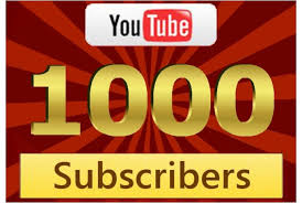 Give you 1000 plus real youtube subscribers fast by Youtubesubbem