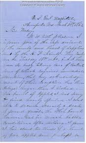 Adeline Walker on hospital supplies, Annapolis, 1863 - Maine Memory Network