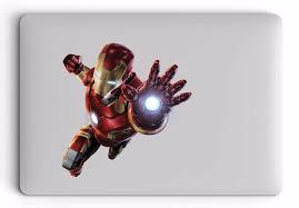 Iron Man Laptop Sticker Apple Skin Macbook Decal Skin Pro Best Decals