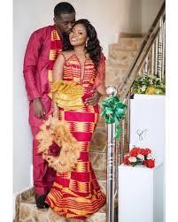 her traditional wedding