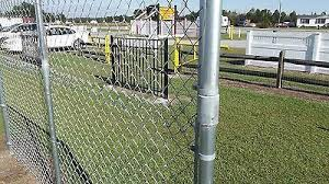 Extend A Fence Chain Link Raise Fence Up To 2 Line Post Kit 1 5 8 Add Height In 2020 Chain Link Fence Fence Path Design