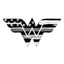 Thin Silver Line Wonder Woman Vehicle Decal Vinyl Decal Etsy In 2020 Wonder Woman Tattoo Blue Rose Tattoos Silver Line