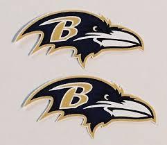 2x Baltimore Ravens Car Bumper Laptop Window Wall Vinyl Stickers Decals Ebay