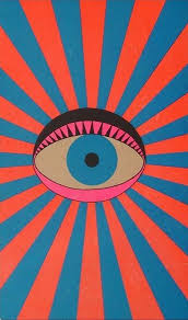 retro phone wallpaper psychedelic art