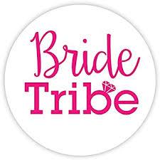 Amazon Com Bachelorette Stickers Bride Tribe Choose Your Colors 503 P Office Products