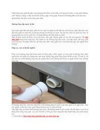 Mẹo sửa máy giặt không xả được nước by khanh pham - issuu
