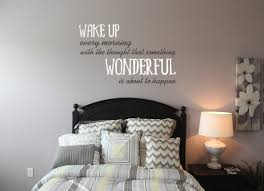 Wake Up Wonderful Wall Decal Trading Phrases
