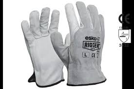 esko rigger leather safety gloves e275