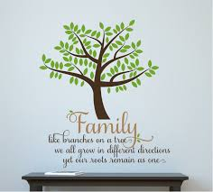 Gracie Oaks Family Like Branches On A Tree Wall Decal Reviews Wayfair