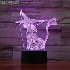 3D Illusion Lam Pokemon Go Espeon Figure Led Night Lamp for Kids Color  Changing Decor Festival Present Night Light Espeon: Amazon.co.uk: Lighting