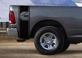Dodge Ram Truck Cummins Turbo 2 Stripe Kit Vinyl Decal Sticker