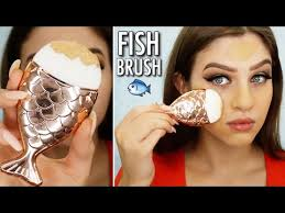 12 kmart fish makeup brush review