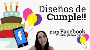 Disenos Para Facebook De Cumpleanos Personalizados
