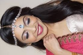 indian south asian bridal makeup series