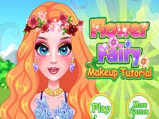 flower fairy makeup tutorial games