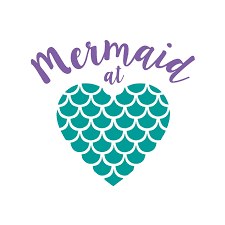 Amazon Com Custom Mermaid At Heart Decal Sticker Mermaid Quote Vinyl Decal For Yeti Tumbler Rtic Cup Laptop Car Window Accessories For Women You Choose Size And Colors Handmade