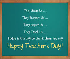 teachers do exist in our different stages of life happy