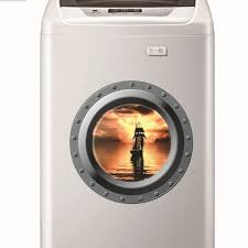 Foreverwind W007 Creative 3d Fake Window Design Wall Sticker Sea Scenery Wall Stickers Children Bedroom Living Room Background Home Decor Removable Waterproof Stickers Washing Machine Refrigerator Door Decoration Decals Wish