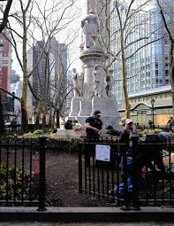 West Side Rag » Green Thumbs Work on Verdi Square Renaissance