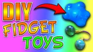 diy fidget toys how to make 3