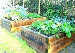 raised flower bed kits stone beds
