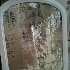 antique mirror diy