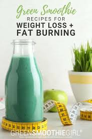 green smoothie recipes for weight loss