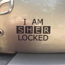 Sherlock I Am Sherlocked Inspired Car Laptop Or Etsy