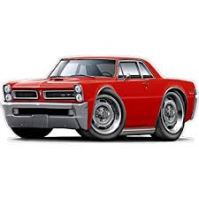 Amazon Com 1965 Gto Wall Decal 3ft Long Pontiac Vinyl Decals Stickers For Boys Cars Old Mens Bedroom Garage Man Cave Home Decor Baby
