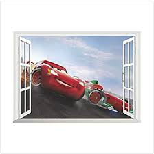 Disney Pixar Car 3 Wall Art Sticker Mural Decal Removable Vinyl Paper Print Gift