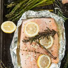 foil packet grilled salmon recipe