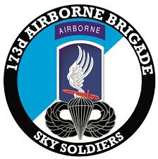 173rd Airborne Brigade With Jump Wings Decal Us Army Unit Decals Priorservice Com