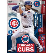 Kris Bryant Chicago Cubs Teammate Wall Decal By Fathead