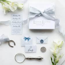 borrowed and blue wedding keepsake