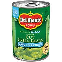 blue lake cut green beans del monte