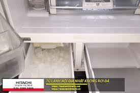Tủ lạnh nội địa Nhật không rơi đá, phải làm sao để xử lý?
