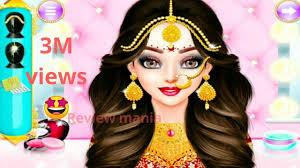 makeup salon indian wedding makeup game